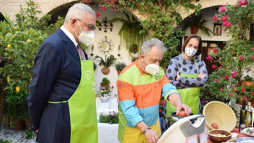 'Salmorejeando por España' promocionará Córdoba como destino gastronómico en Madrid, Barcelona y Valencia