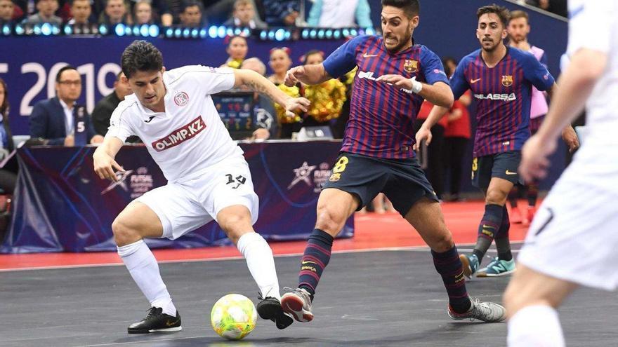 El Kairat Altaly frustra de nuevo el sueño europeo del Barça