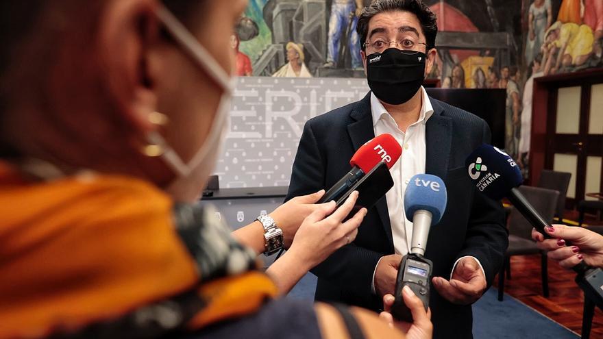 Martín aboga por tomar medidas restrictivas en Tenerife pero sin subir de nivel de alerta