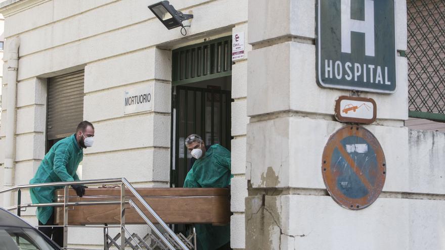 La Comunitat sufre en el año pandemia el mayor número de defunciones desde 1918
