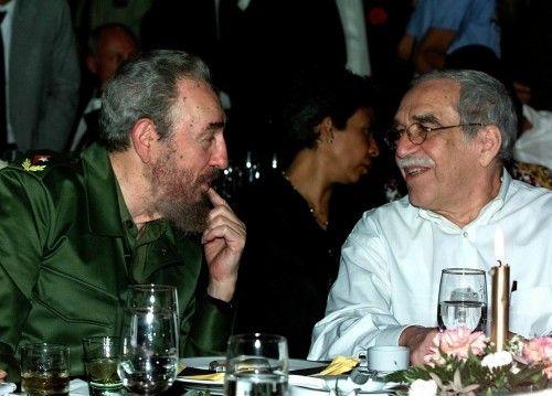 CUBA FIDEL CAASTRO GABRIEL GARCIA MARQUEZ