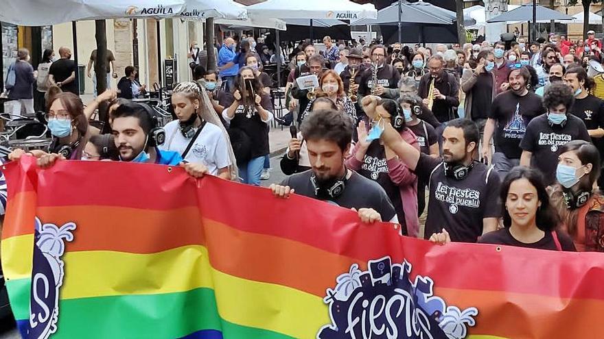 Las casetas de Fiestes Populares piden libertad para poner música