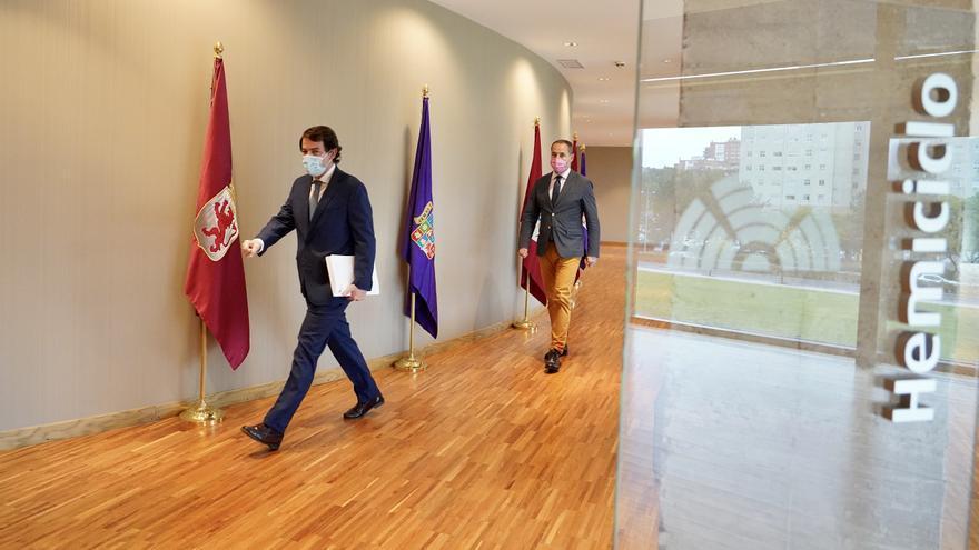 Mañueco anuncia un techo de gasto en Castilla y León de 11.000 millones en 2021