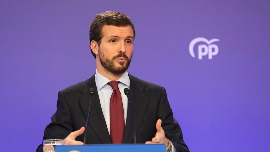Casado descarta un adelanto electoral en Madrid