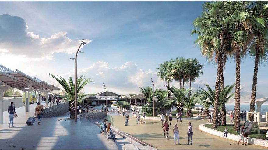 El Ayuntamiento firma el contrato para construir la estación de Hoya de la Plata
