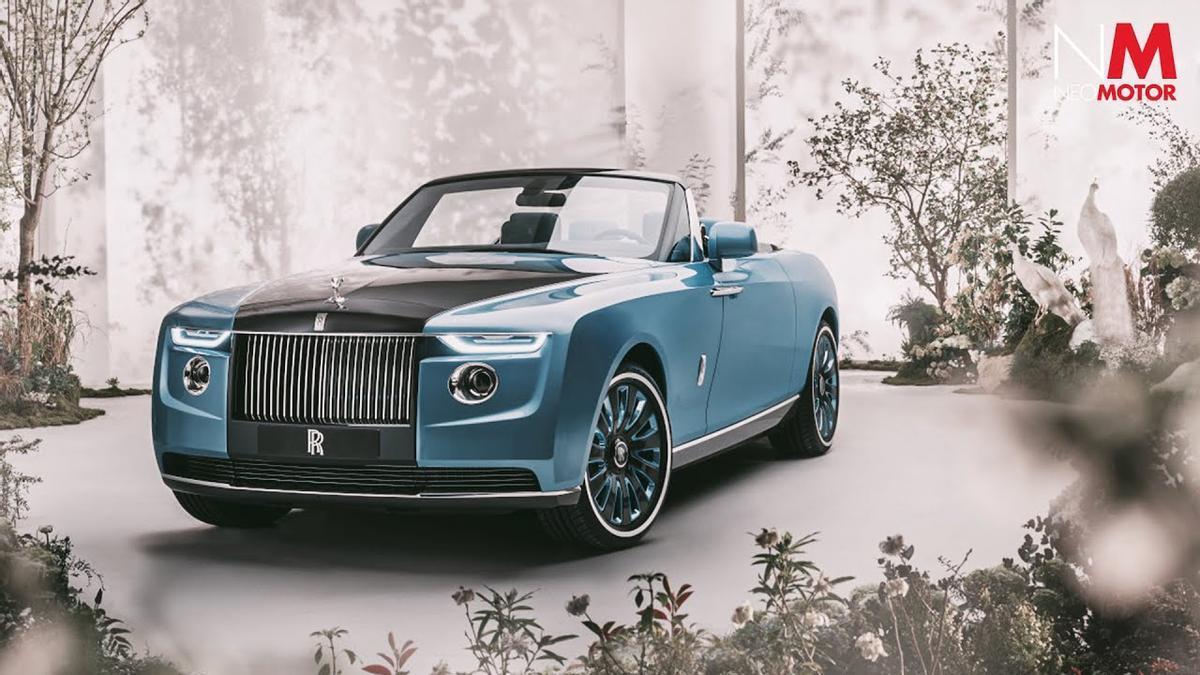 El Rolls-Royce Boat Tail es el coche más caro del mundo: 23 millones de puro lujo