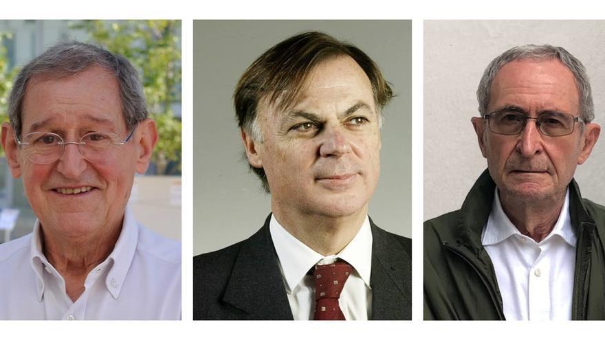 Las universidades otorgan la Medalla de Honor a Joan Prat, Carles Solà y Ramon Lapiedra