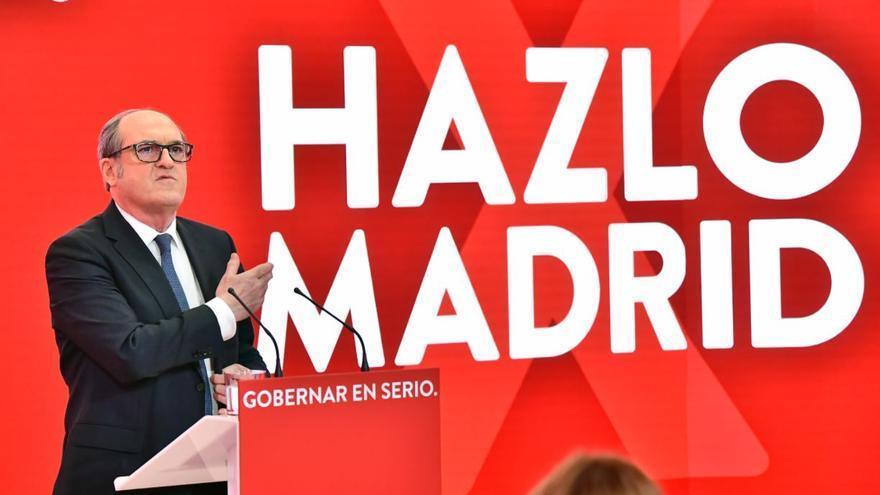 """""""Vota, hazlo por Madrid"""", el lema del PSOE en las elecciones del 4 de mayo"""