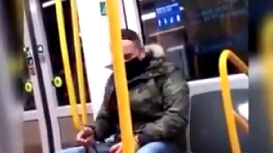 """El agresor racista del metro de Madrid afirma que """"estalló"""" por culpa de su exmujer"""