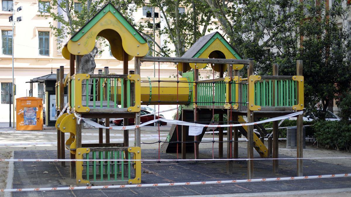 Los parques llevan meses clausurados