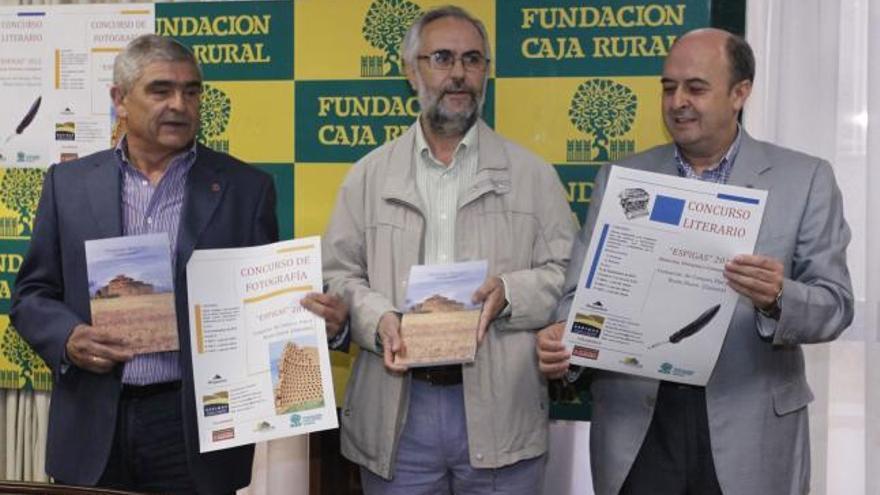 Antonio Casas, Sarvelio Villar y Feliciano Ferrero.