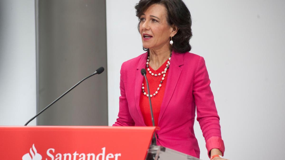 La presidenta del grup, Ana Patrícia Botín