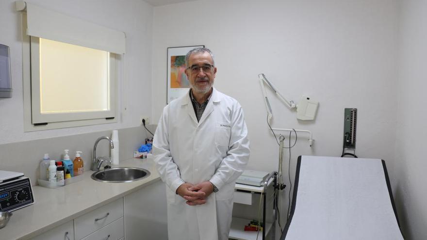 El metge Narcís Prat s'ha jubilat de la sanitat pública després de 40 anys