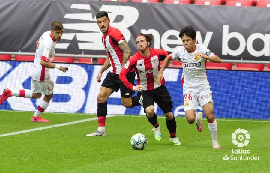 Athletic Club - Real Mallorca: Los bermellones se acercan al abismo