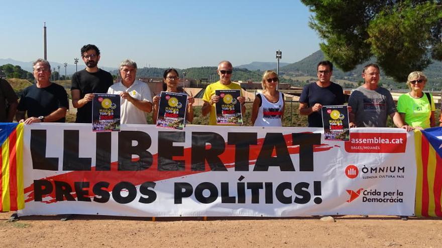 L'ANC convoca a Lledoners una gran marxa de torxes per reclamar unitat