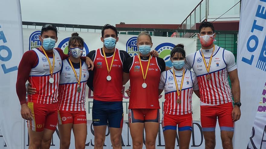 Doble oro para el riosellano Pelayo Roza y la canguesa Carla Corralen la clausura del Campeonato de España de sprint olímpico
