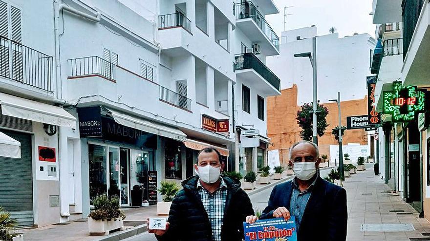 Vuelve 'El Empujón' a los comercios de Sant Antoni