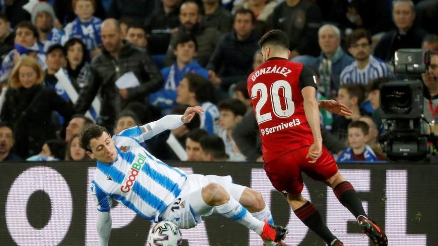 La Real Sociedad vence al Mirandés, pero la eliminatoria se decidirá en Anduva