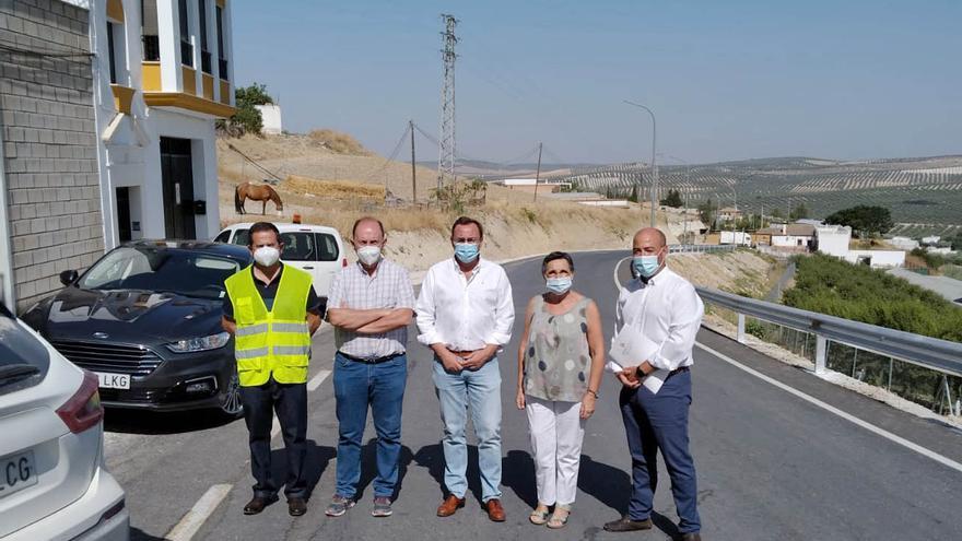 La Diputación dedica 300.000 euros a la mejora de la CO-5211en Aguilar