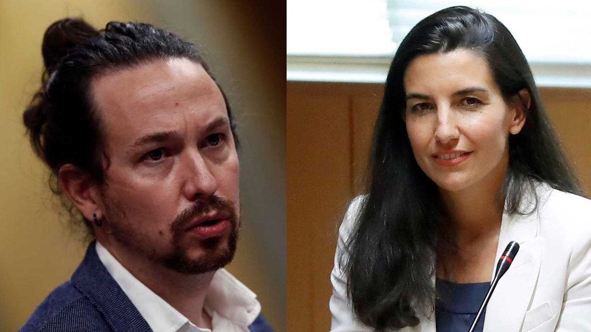 Pablo Iglesias y Rocío Monasterio.
