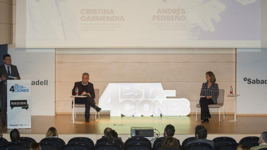 Cristina Garmendia y Andrés Pedreño coinciden en que el teletrabajo ha venido para quedarse
