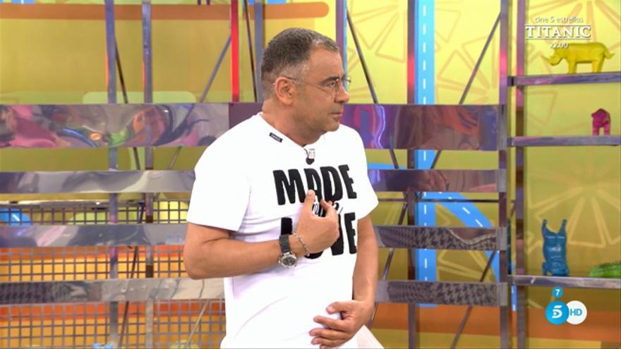 """Las pullas de Jorge Javier al promocionar 'La última cena': """"¿Lo presenta Paz? ¿Pero no era mi programa?"""""""