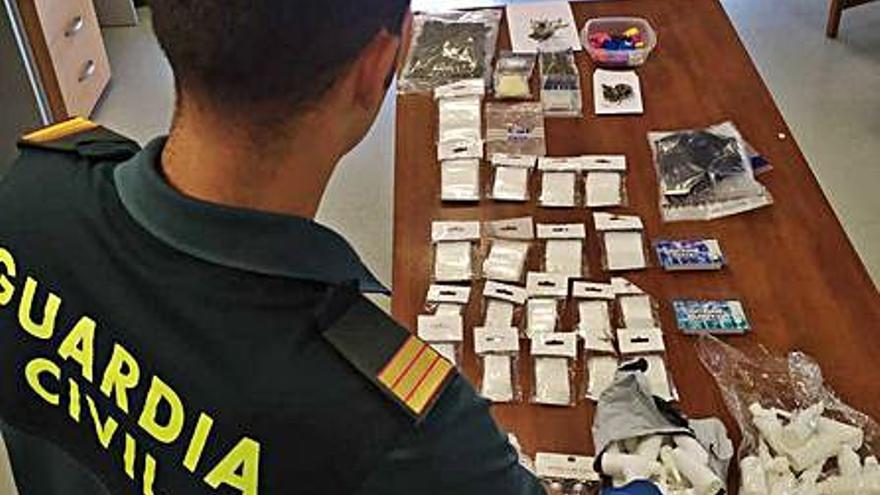 Detenido por vender droga en fiestas privadas en Ibiza