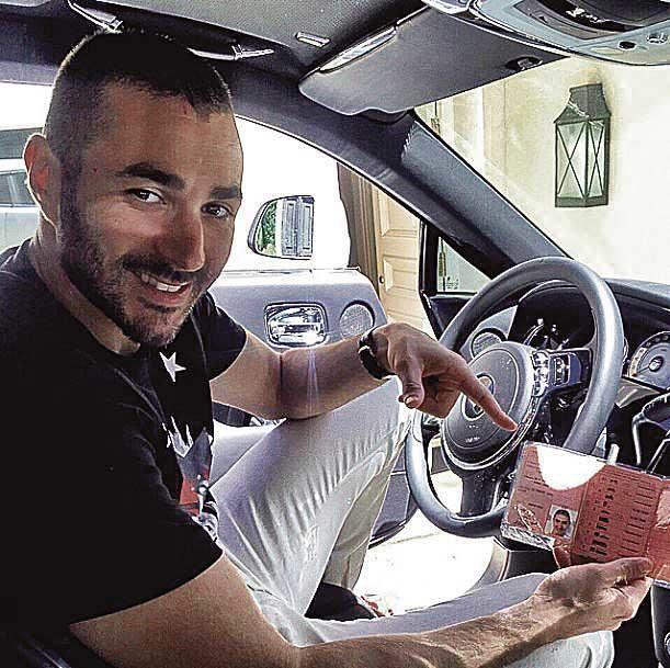 Karim Benzema estuvo en Illetes.