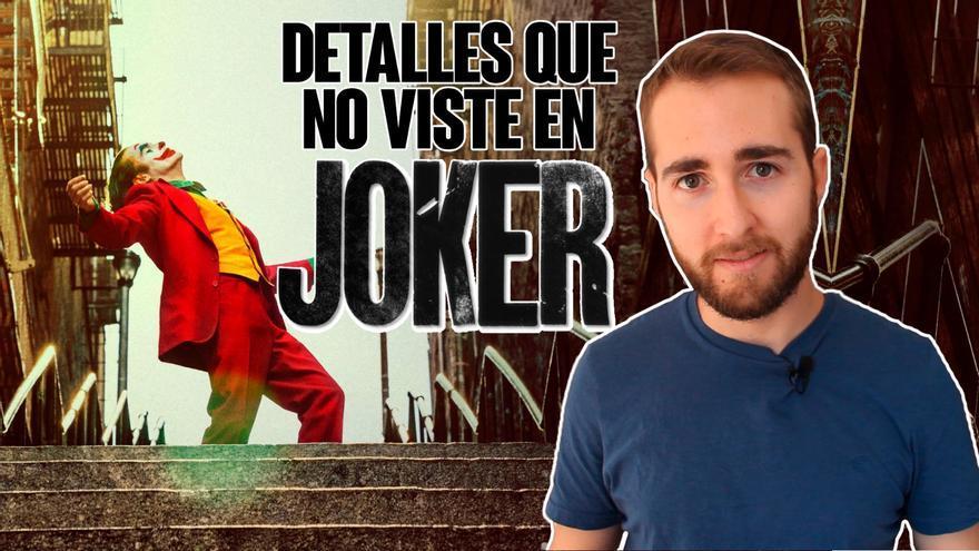 "Detalles que no viste en ""Joker"""