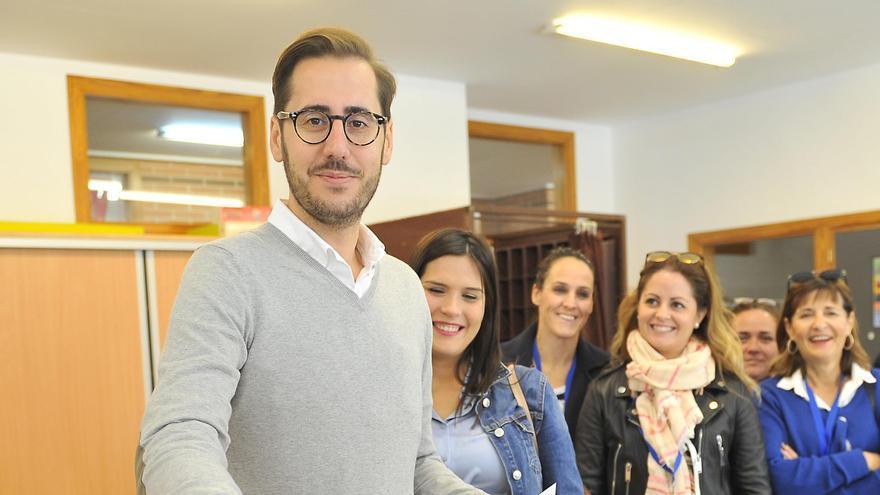 Sergio Rodríguez, vicesecretario de Comunicación del PP de Elche