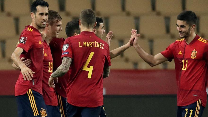 España reconduce su camino hacia Catar ante Kosovo