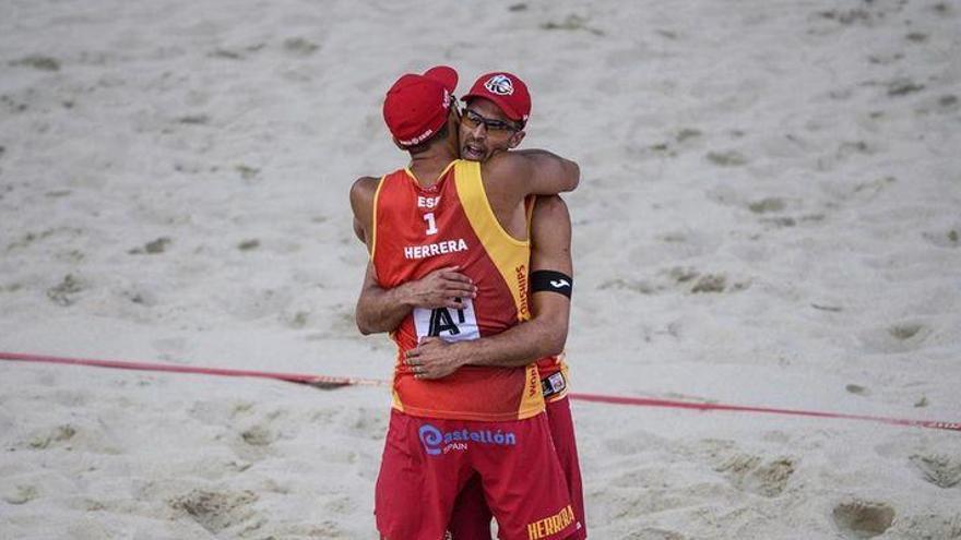 Pablo Herrera y Adrián Gavira, en cuartos del Mundial