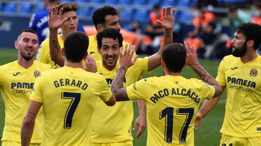El Villarreal asalta Getafe y se asienta en la zona alta