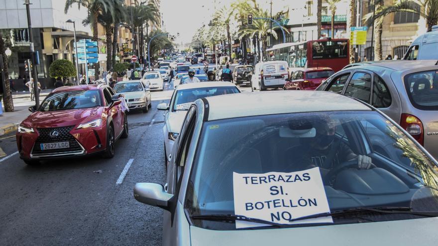 El sector del ocio aplaza la acampada nocturna de protesta ante el compromiso de Puig de un plan de rescate