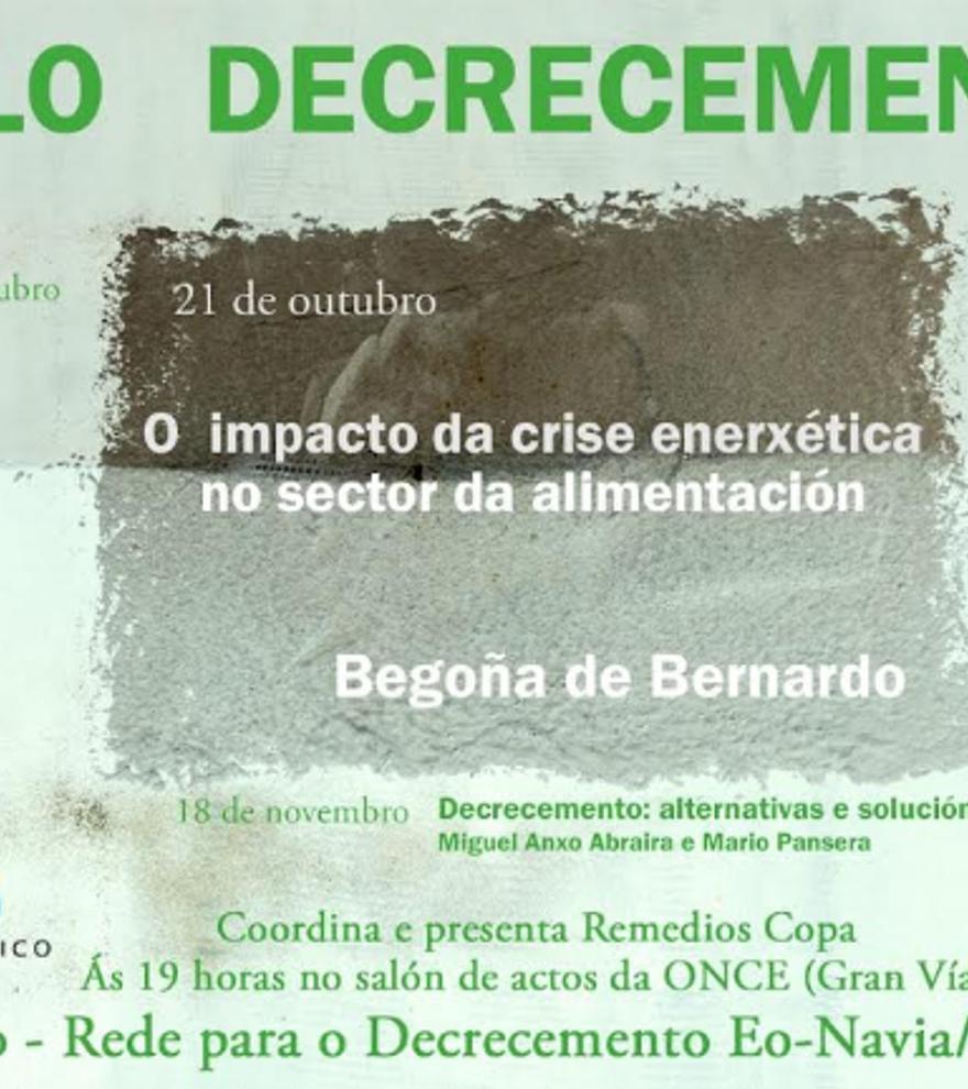 Ciclo decrecemento - Decrecemento: alternativas e solucións