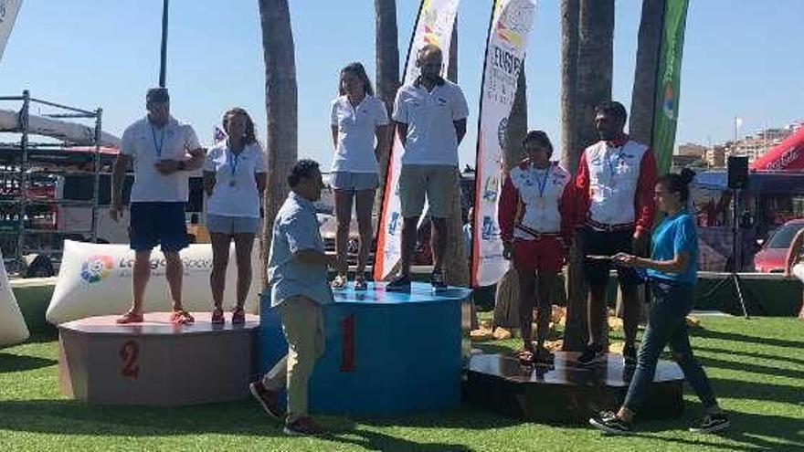 El asturiano Daniel Sánchez, bronce en el Campeonato de Europa de kayak de mar