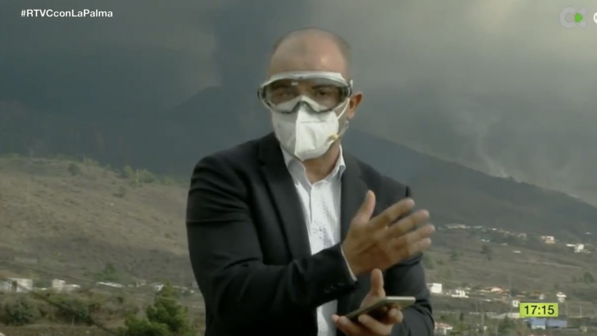 Paco Luis Quintana, presentador de 'Telenoticias 1'.