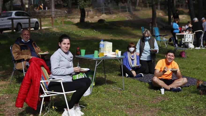 El riesgo de incendios impide los peroles en el campo por San Rafael