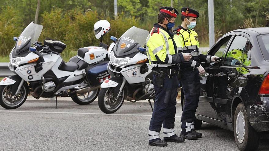 Els Mossos alerten d'un augment de la taxa d'alcohol en conductors