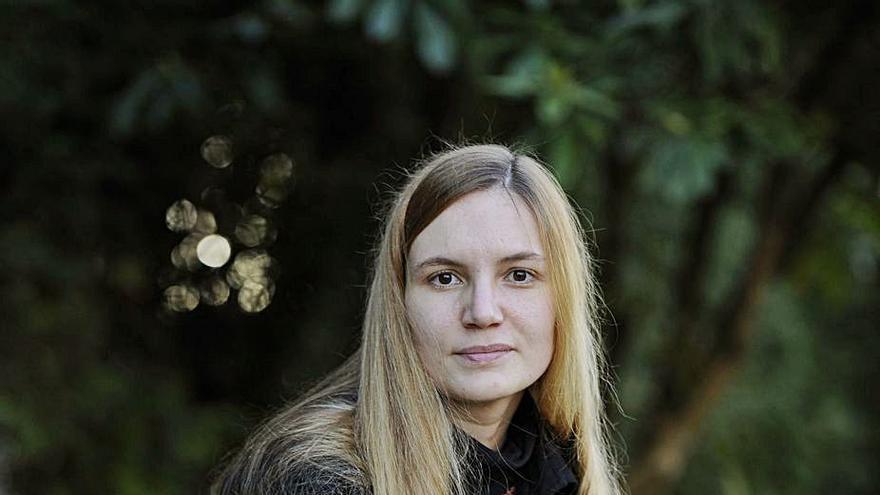 """""""Na miña obra fago unha relectura da mitoloxía galega"""""""