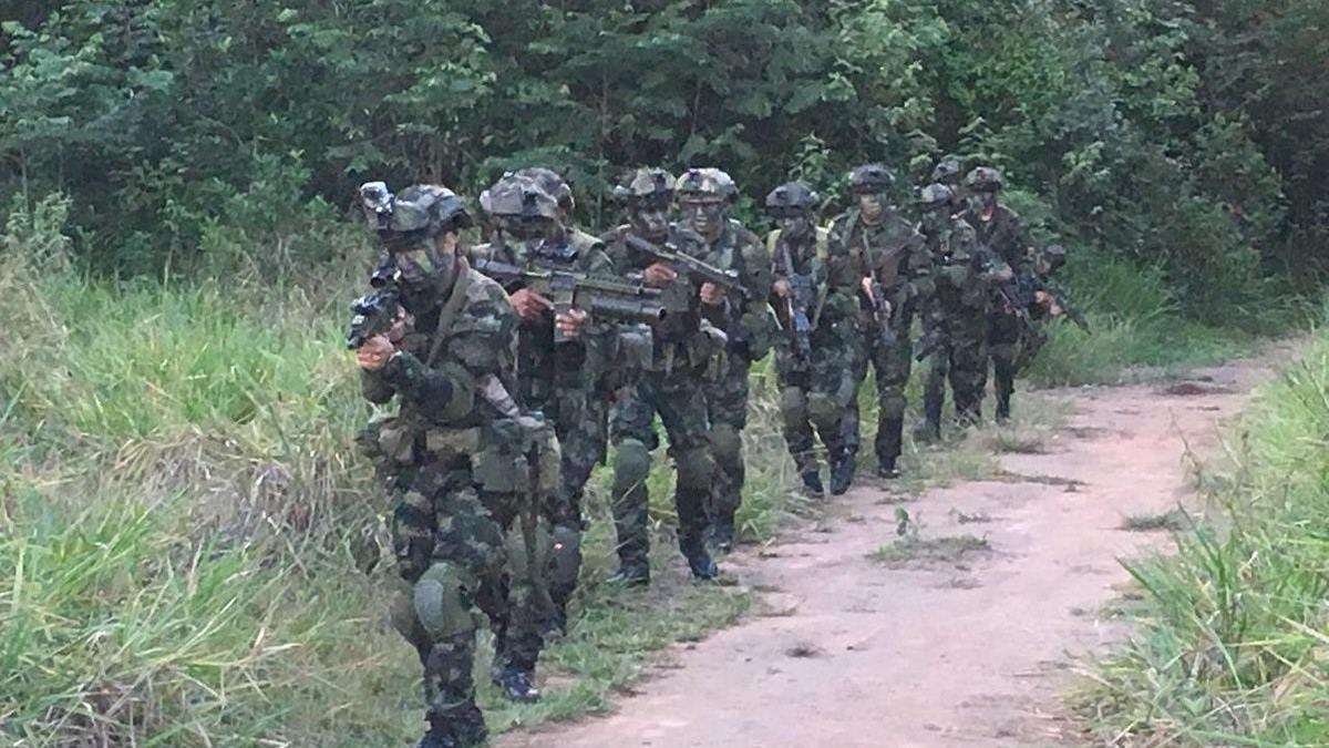 Militares colombianos en imagen de archivo.