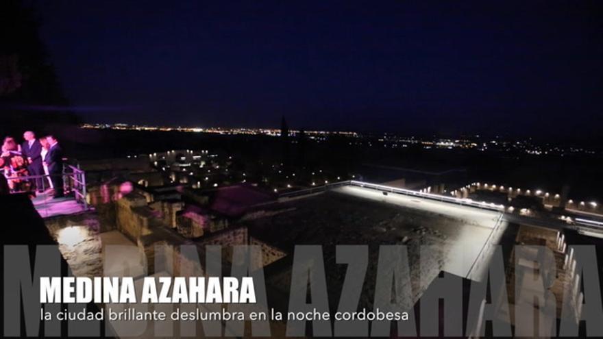 VÍDEO: Medina Azahara deslumbra en la noche cordobesa.