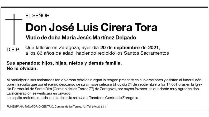 José Luis Cirera Tora