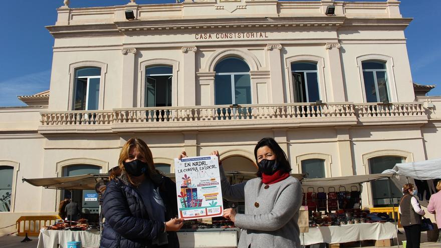 Alfafar inicia la campaña 'En Nadal, la compra és local'