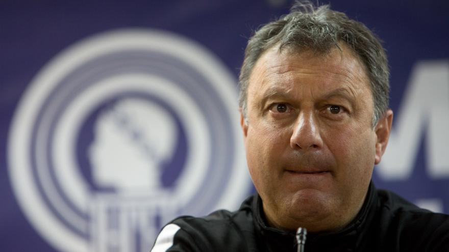 Díaz: «El Hércules no baja los brazos y no pienso en otra cosa que no sea ganar al Badalona»