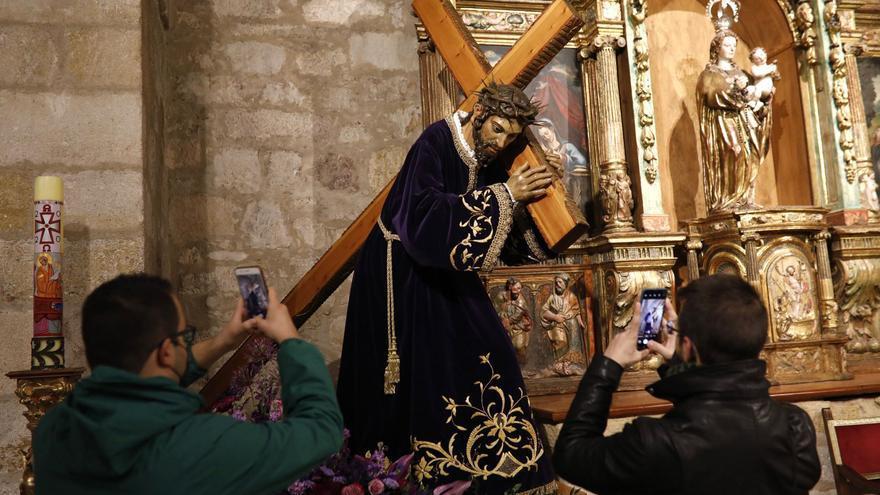 Semana Santa Zamora | El Mozo se queda en San Frontis