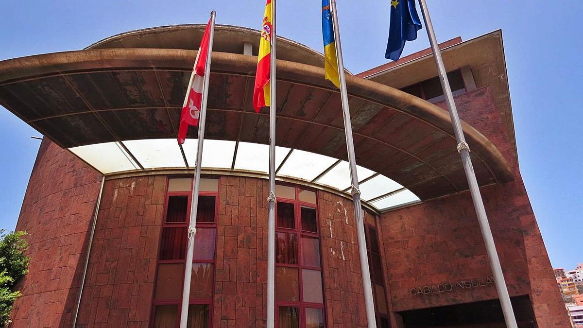 Sede del Cabildo de La Gomera.     E.D.