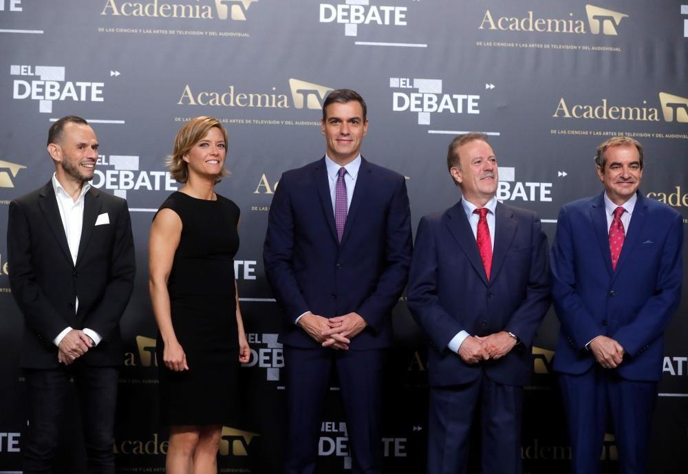 Debate a cinco de las elecciones del 10-N