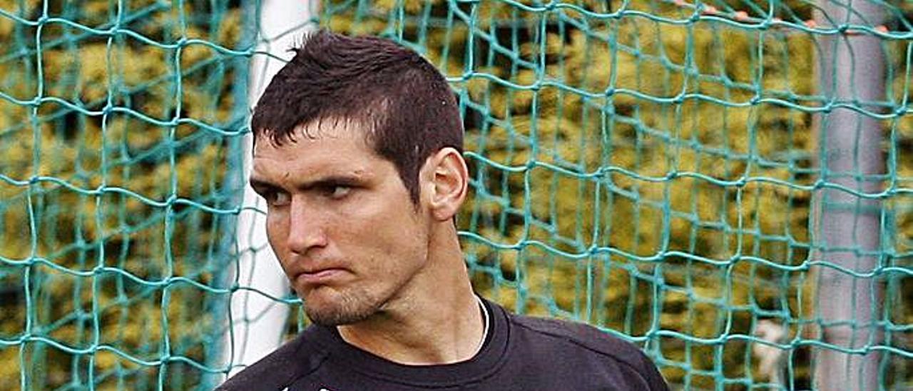 Matías Dituro, durante su etapa en filial. // FDV