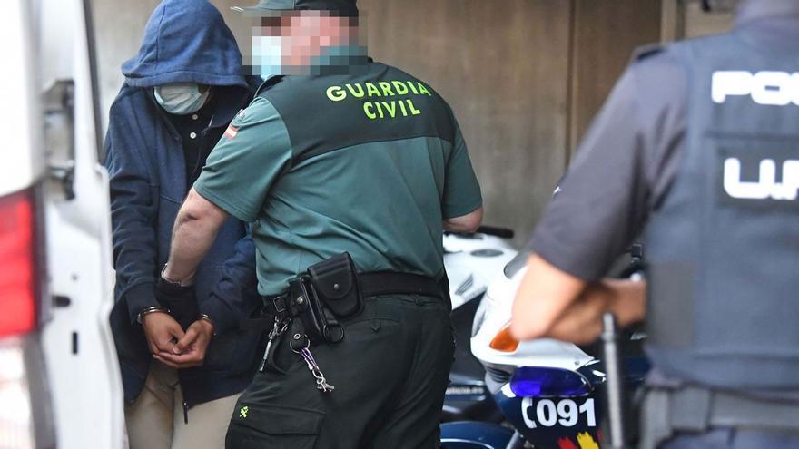 Los tres investigados por la muerte de Samuel en A Coruña, trasladados a dos prisiones de Lugo